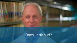 Does Lasik hurt