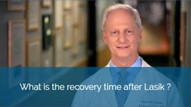 What is the recovery time after Lasik