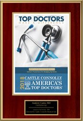 Castle Connolly Award for Top Lasik Doctors 2018